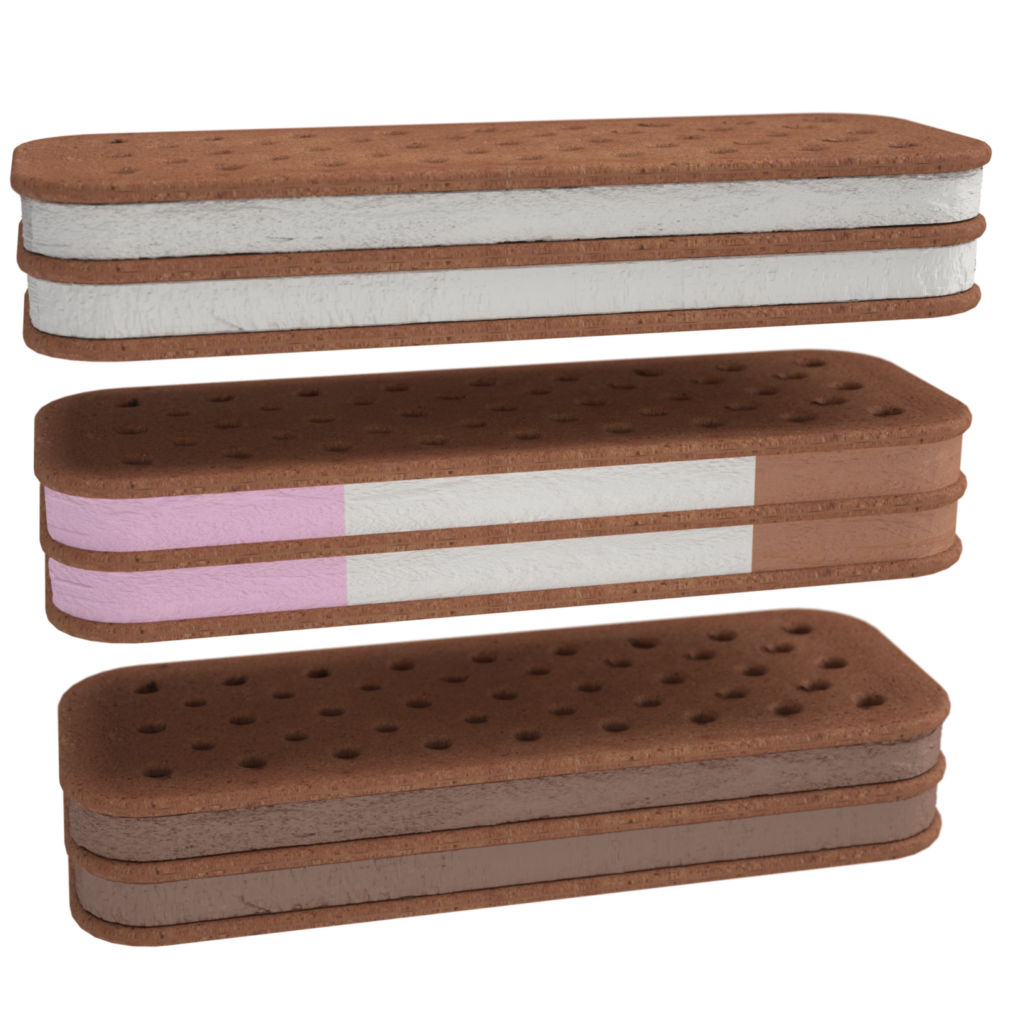 Ice Cream Club Sandwiches