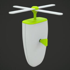 Raw Raw Spinning Toy