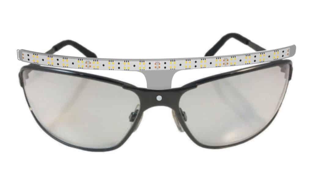 Light Bar Safety Glasses